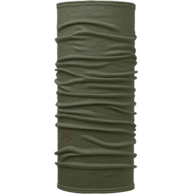 Buff Lightweight Merino Wool accessori collo verde oliva